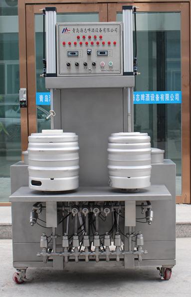 Bierfass - Keg Reinigungsmaschine